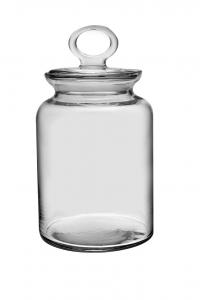 Barattolo in vetro con coperchio LT 1,5 cm.22,1h