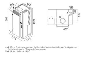 Generatore  aria calda Aria 30 Eva Calor