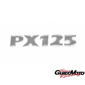 1272019 TARGHETTA ADESIVA RESINATA COFANO LATERALE PIAGGIO VESPA PX 125