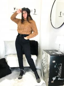 Jeans vita alta elasticizzato
