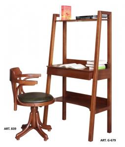 Mesa de despacho consola en madera Art-Design