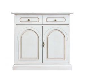Aparador estilo clásico 2 puertas y un cajón doble fachada
