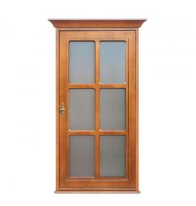 Mueble vitrina de pared 1 puerta