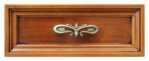 Escritorio Luis XVI cinco cajones en madera primera calidad