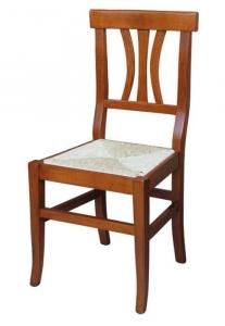 Silla con asiento en paja uso diario