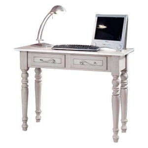 Mesa de despacho cajones y acabado única Usage