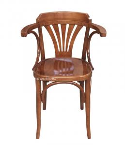 Silla de diseño madera de haya moldeada