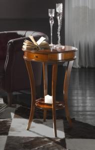 Mesa redonda para lado de sofá o sillón