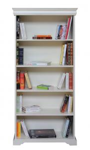 Mueble librería para almacenar estilo Luis Felipe