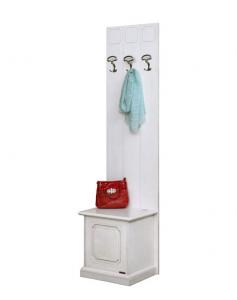Muebles de entrada laqueados blanco