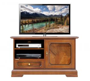 Mueble tv en raíz puerta y cajón para salón