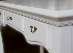 Mesa de despacho en madera de artesanado italiano Sinfony