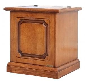 Caja pequeña de almacenaje 50 cm tapa rebatible