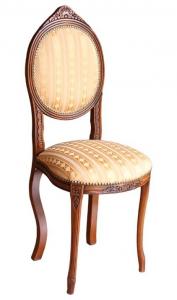Silla respaldo ovalado en madera cerezo Ovalo