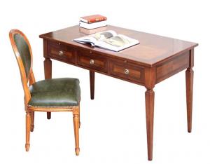 Mesa de despacho con cajones frontales y laterales