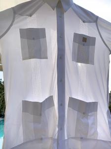 Guayabera Riviera 100% Bioceramic® white