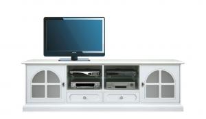 Mueble tv lacado blanco White diamond