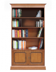 Mueble librería alta para sala o oficina