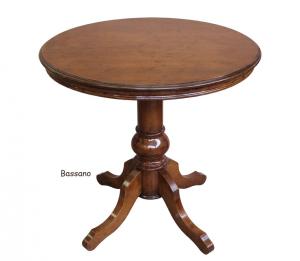 Mesa de centro clásica diámetro 80 cm