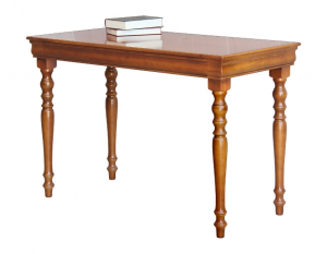Mesa de despacho estilo Luis Felipe en madera