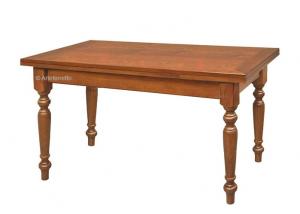 Mesa rectangular estilo clásico extensible 180-280 cm
