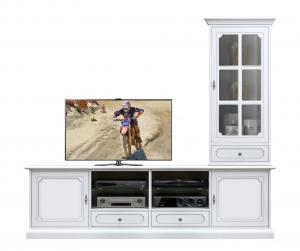 Mueble modular de pared de tv para salón