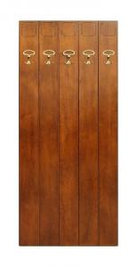 Perchero en madera clásico 5 ganchos