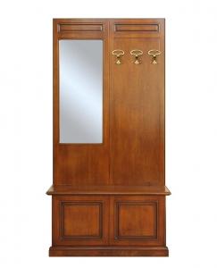Muebles de recibidor de madera estilo clásico