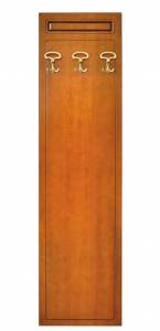Perchero por recibidor en madera estilo clásico