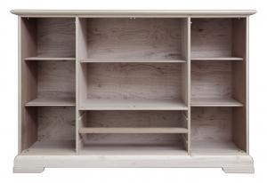Aparador mueble modular puertas vitrinas y compartidores