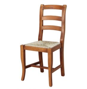 Silla asiento de paja
