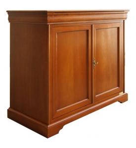 Aparador mueble estilo Luis Felipe 2 puertas 1 compartimiento secreto