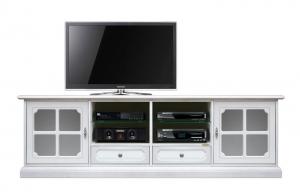 Mueble tv en madera 2 m