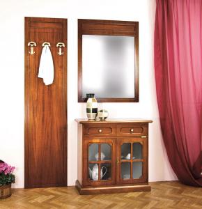 Mueble de entrada aparador espejo y perchero