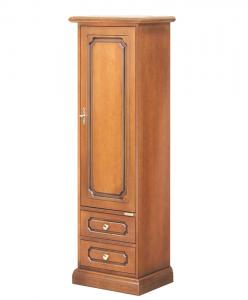 Armario 1 puerta acabo clásico artesanado italiano