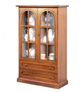 Vitrina de estilo clásico de madera