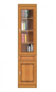 Librería vitrina ahorra espacio