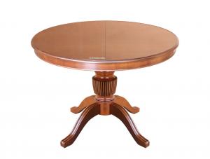 Mesa extensible de comedor, 120-160 cm, colección Stub