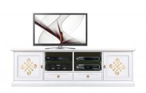 Mueble de tv 2 metros Gold light