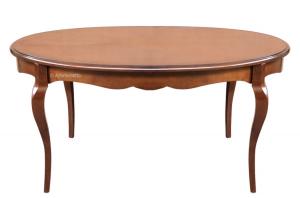 Mesa ovalada de comedor 160-210 cm