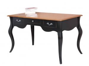 Mesa de despacho bicolor de madera