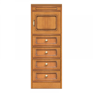 Colección Compos - Mueble con 4 cajones y puerta