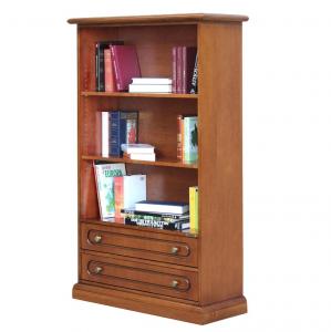 Librería de madera con cajones Aria
