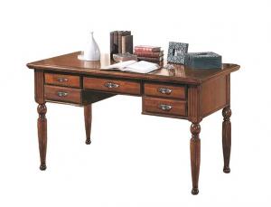 Escritorio de oficina 5 cajones Classic Wood