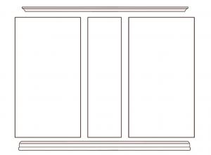Mueble de pared para salón Todo