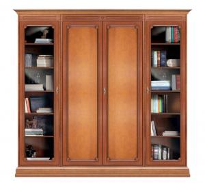 Mueble de pared de estilo clásico en madera Office