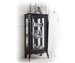 Mueble vitrina de salón Beautiful line con plata - oferta