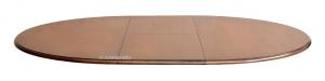 Mesa redonda estilo clásico - extensible 100 cm