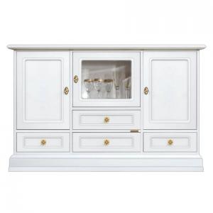 Mueble aparador 4 cajones diseño clásico