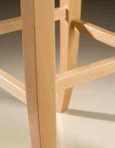 Taburete de bar Flit madera de haya